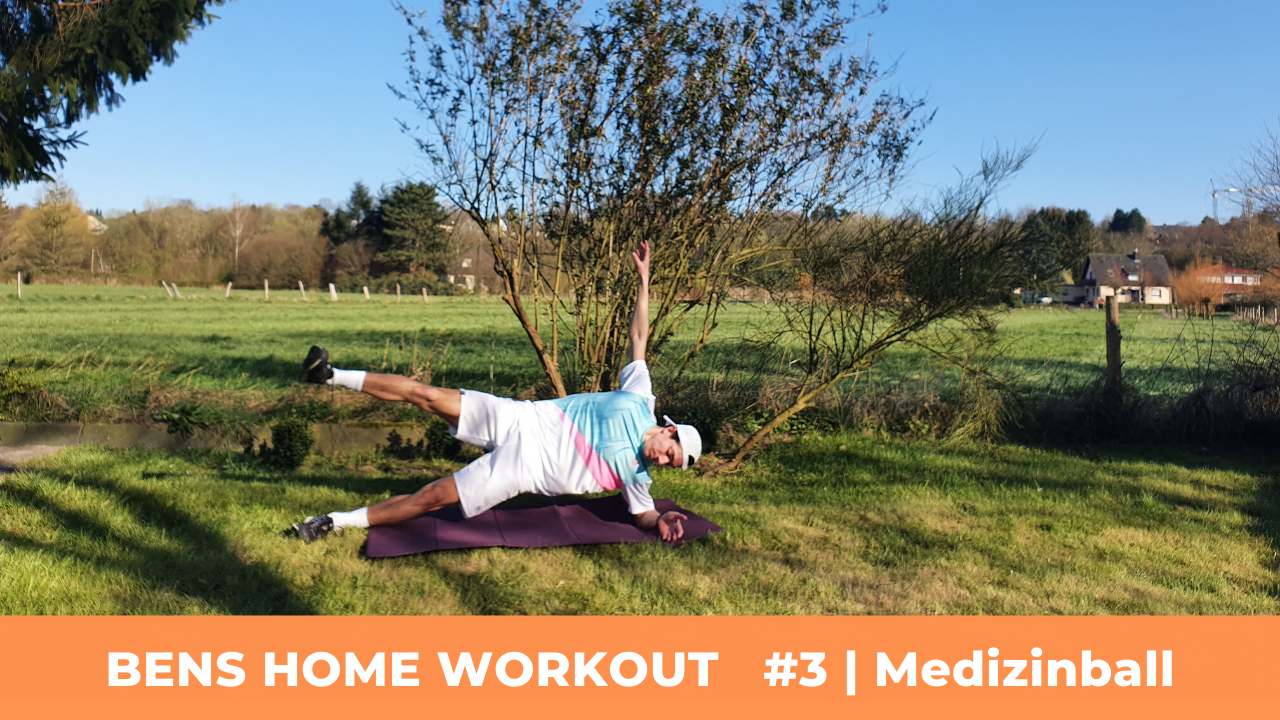 Bens Home Workout #3 | Medizinball